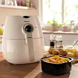the working of a air fryer
