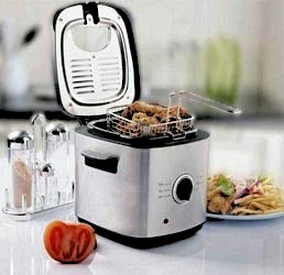 the working of a deep fryer