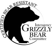 a bear-resistant certificate