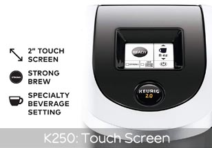 k250 Touch Screen