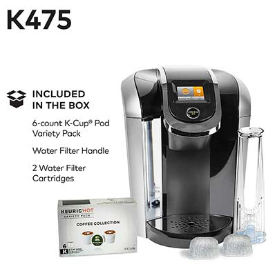 Keurig K475 Included In The Box