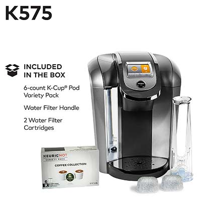 Keurig K575 Included In The Box